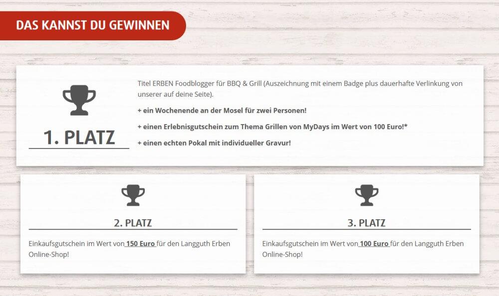 Die Gewinne beim ERBEN Foodblogger Award erben foodblogger award-ERBEN Foodblogger Award BBQ Grill 2018 03-ERBEN Foodblogger Award BBQ & Grill 2018
