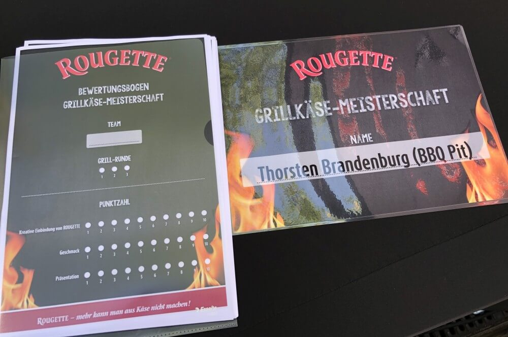 Der Bewertungsbogen rougette grillkäse-meisterschaft-ROUGETTE Grillkaese Meisterschaft 2018 Koeln 03-ROUGETTE Grillkäse-Meisterschaft 2018 in Köln