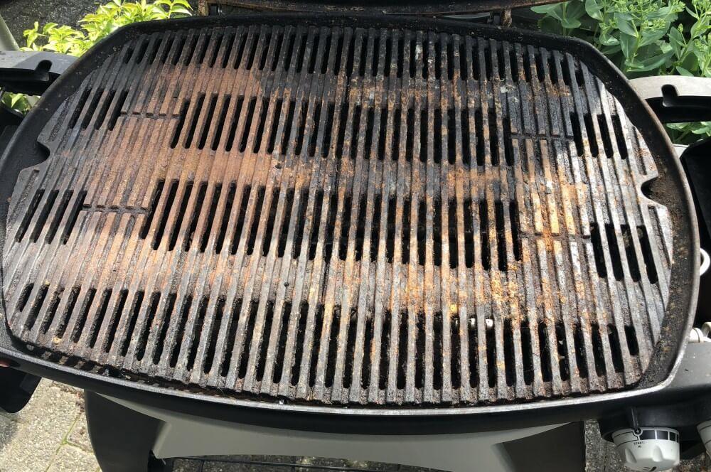 Weber Elektrogrill Rost Reinigen : Edelstahl grillrost für weber q q grills ersatzrost für q serie