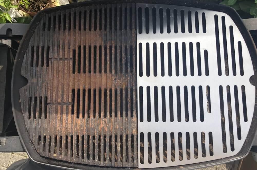 edelstahl-grillrost für weber q300-Edelstahl Grillroste Weber Q Serie 3000 Grillplatte 02-Edelstahl-Grillrost für Weber Q300 Q3000 Grill Ersatzroste für Q-Serie