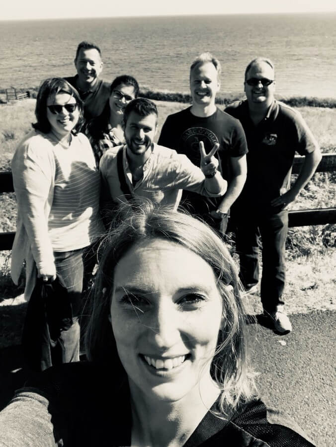 Die Irland-Bloggertruppe irland-reise-Kerrygold Bloggerreise Irland Weidehaltung Rinderzucht 40-Irland-Reise 2018 mit Kerrygold