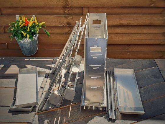 drago grill-Drago Grill DG Grills Vertikalgrill 03 560x420-Drago Grill von DG-Grills im Test / Kickstarter-Kampagne
