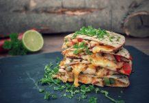 Hähnchen Quesadillas