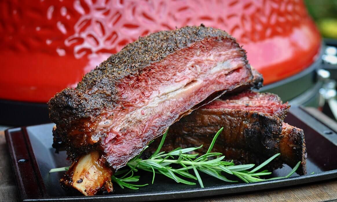 Pastrami Beef Ribs pastrami short ribs-Pastrami Short Ribs-Pastrami Short Ribs – Beef Ribs mit Pit Powder Pastrami