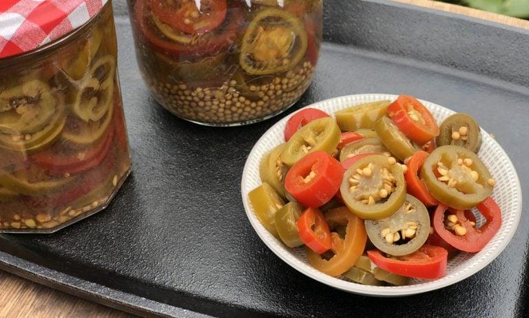 Eingelegte Jalapenos – Chilis selber einlegen