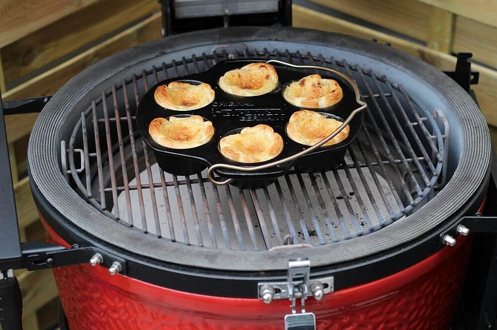 Pastéis de Nata auf dem Kamado Joe Classic II Keramikgrill pastéis de nata-Pasteis de Nata portugiesische Puddingtoertchen 04-Pastéis de Nata – portugiesische Puddingtörtchen