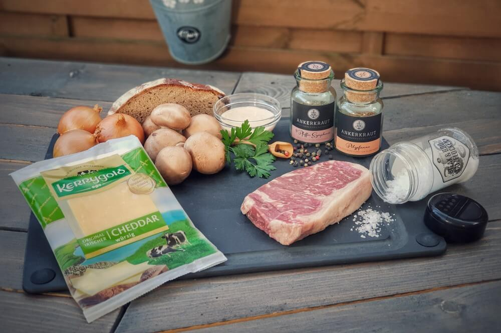 Steak & Cheese abendbrot-Abendbrot Stulle Steakstulle Steak Sandwich 01-Abendbrot – Steakstulle Deluxe