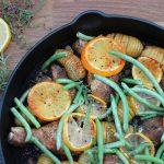 Hähnchen mit Fächerkartoffeln zitronenhähnchen-Zitronenhaehnchen 150x150-Zitronenhähnchen mit Fächerkartoffeln