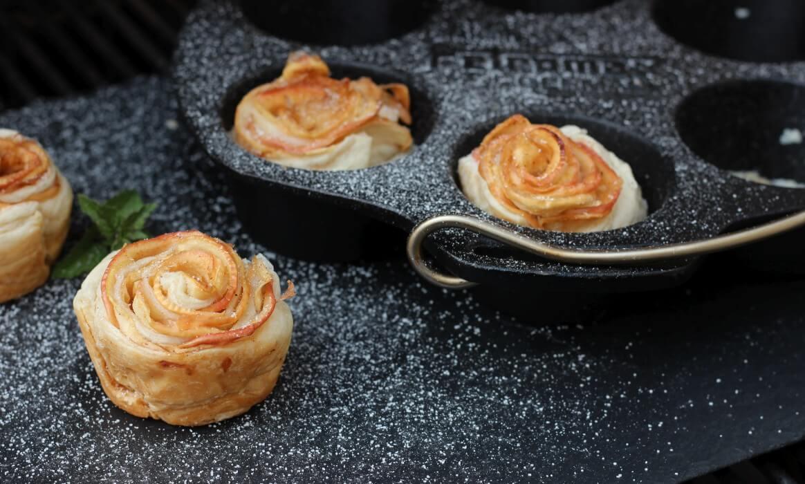Apfelrosen in Blätterteig apfel-blätterteig-rosen-Apfelrosen Apfel Blaetterteig Rosen-Apfel-Blätterteig-Rosen – süßes Dessert vom Grill apfel-blätterteig-rosen-Apfelrosen Apfel Blaetterteig Rosen-Apfel-Blätterteig-Rosen – süßes Dessert vom Grill