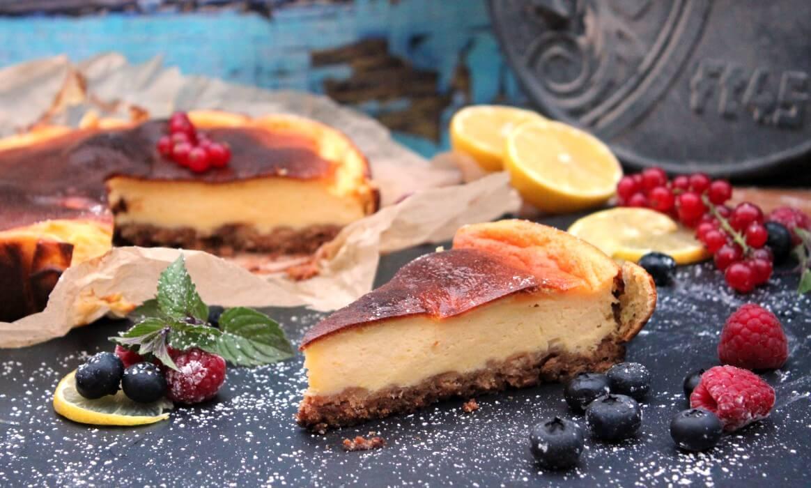 Außenküche Selber Bauen Quark : Käsekuchen aus dem dutch oven cheesecake selber machen bbqpit.de