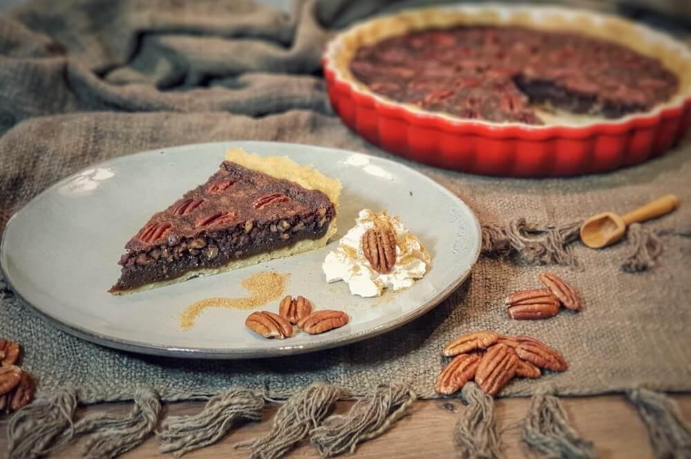 Pecan Pie pecan pie-Pecan Pie Pekannusskuchen 05-Pecan Pie – amerikanischer Pekannusskuchen