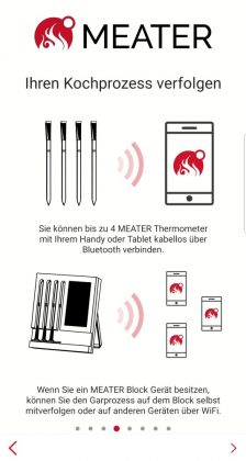 meater plus-MEATER Plus App 04 224x420-MEATER Plus – das kabellose Grillthermometer mit erhöhter Reichweite