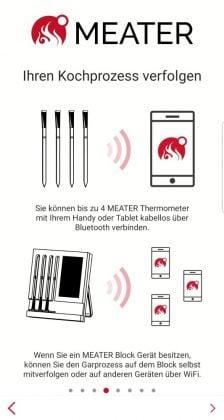 meater plus-MEATER Plus App 04 224x420-MEATER Plus – das kabellose Grillthermometer mit erhöhter Reichweite