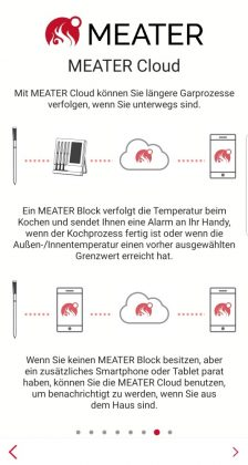 meater plus-MEATER Plus App 07 224x420-MEATER Plus – das kabellose Grillthermometer mit erhöhter Reichweite