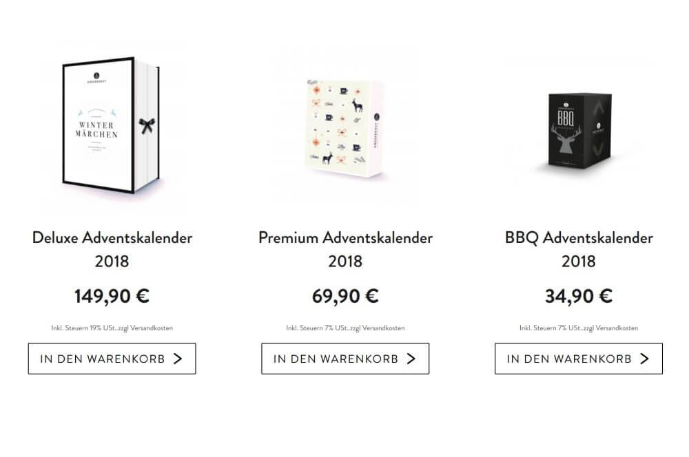 Ankerkraut Adventskalender 2018 ankerkraut adventskalender-Ankerkraut Adventskalender 2018 03-Ankerkraut Adventskalender 2018 – drei Modelle – Limited Edition