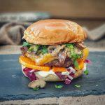 Burger mit Kürbis kürbis-burger-Kuerbis Burger Cheddar Champignons 150x150-Kürbis-Burger mit Cheddar und Champignons