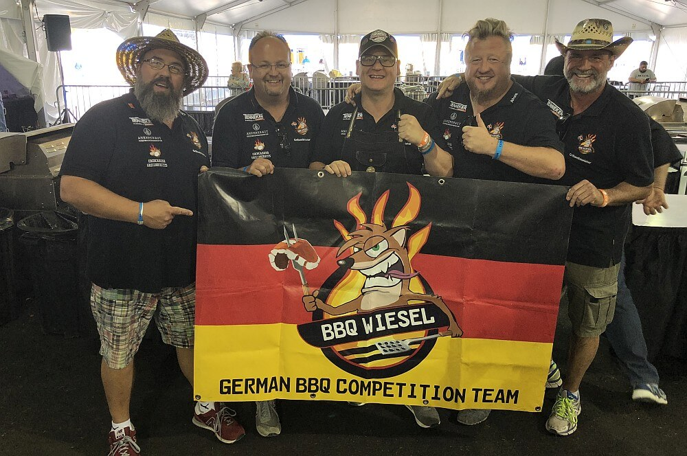 BBQ Wiesel world bbq champion 2018-World BBQ Champion 2018 World Food Championships BBQ Wiesel 06-World BBQ Champion 2018 mit den BBQ Wieseln in Orange Beach!