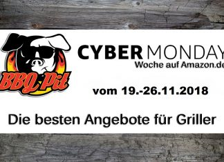 Amazon Cyber Monday Woche 2018