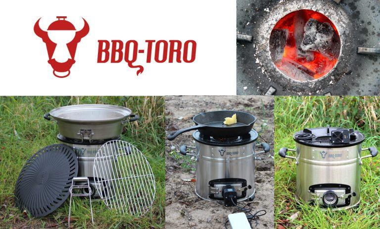BBQ-Toro Raketenofen mit Gebläse