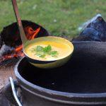 Kürbissuppe Potjie kürbissuppe-Kuerbissuppe Potjie 150x150-Kürbissuppe aus dem Potjie