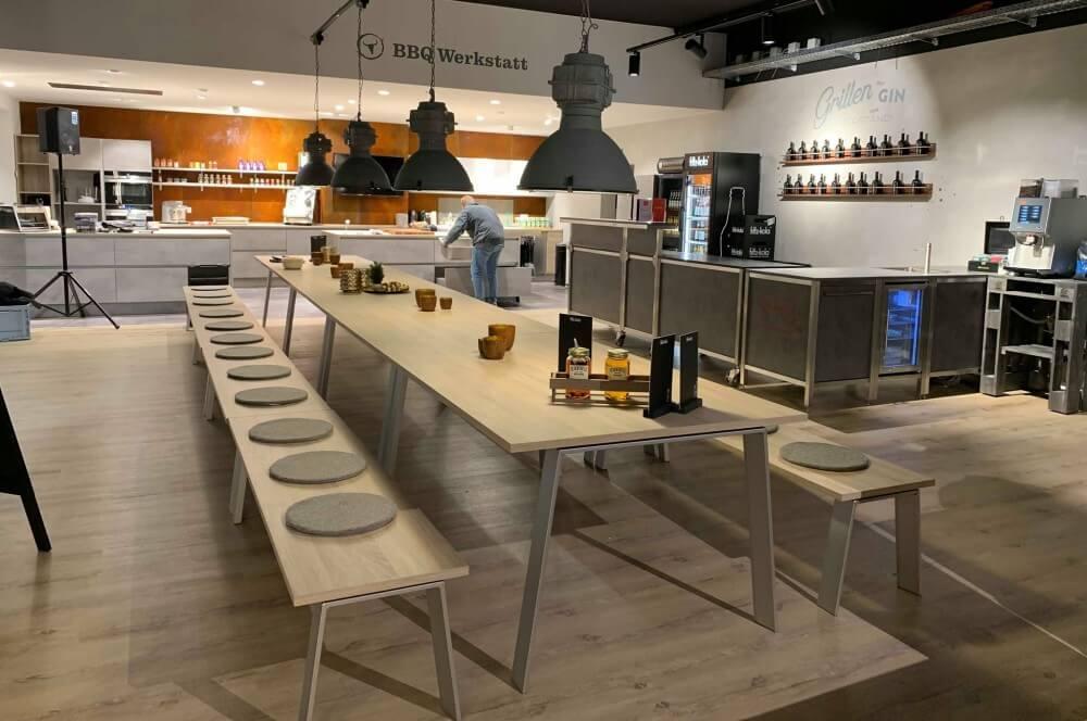 Blick in die Moesta BBQ Grillschule moesta bbq store-Moesta BBQ Store Loehne 03-Moesta BBQ Store – seit November 2018 in Löhne