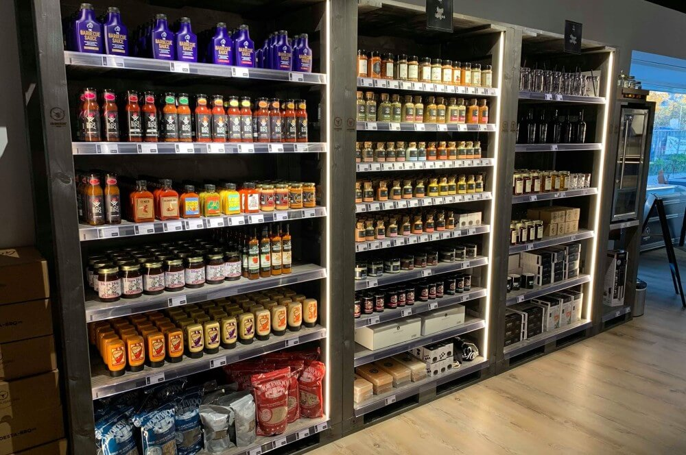 Saucen und Gewürze im Moesta BBQ Store moesta bbq store-Moesta BBQ Store Loehne 09-Moesta BBQ Store – seit November 2018 in Löhne