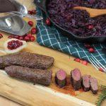 Rehrücken mit Cranberry-Rotkohl rehrücken-Rehruecken Cranberry Rotkohl 150x150-Rehrücken mit Cranberry-Rotkohl