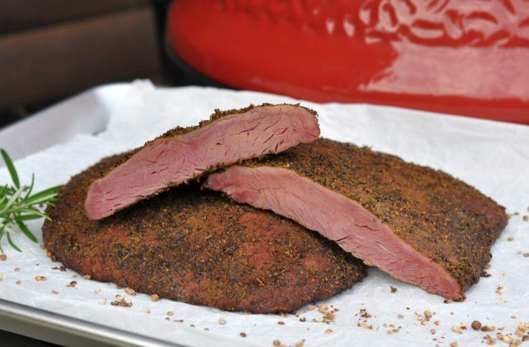Flank Steak Pastrami