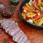 Roastbeef mit Gemüsepfanne roastbeef mit grillgemüse-Roastbeef mit Grillgemuese vom OFB 150x150-Roastbeef mit Grillgemüse vom Elektro-O.F.B.