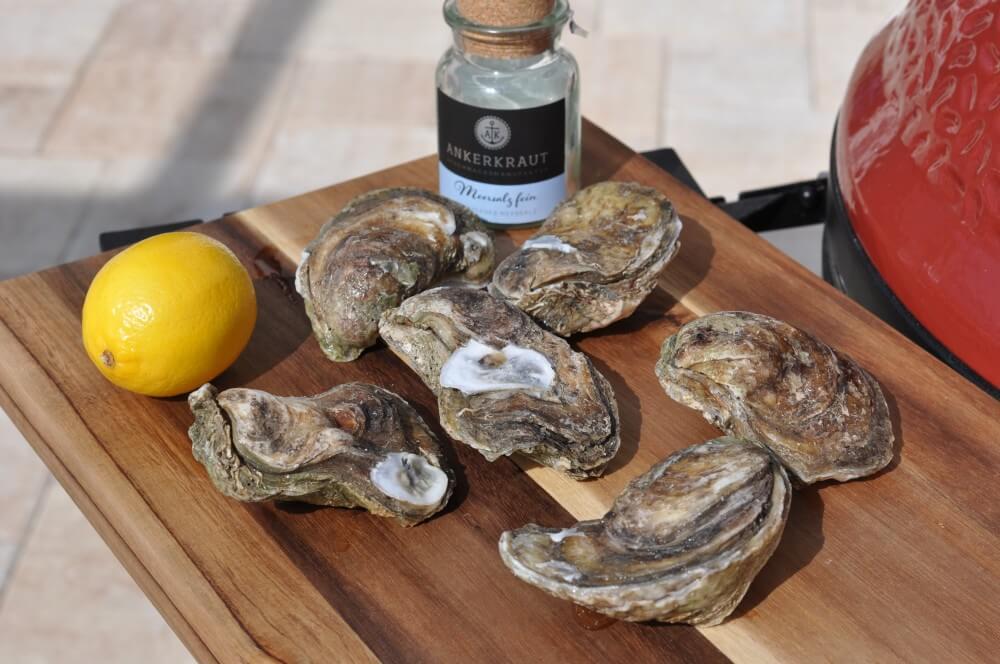 Zutaten gegrillte Austern gegrillte austern-Gegrillte Austern vom Grill 01-Gegrillte Austern – So gelingen Austern vom Grill