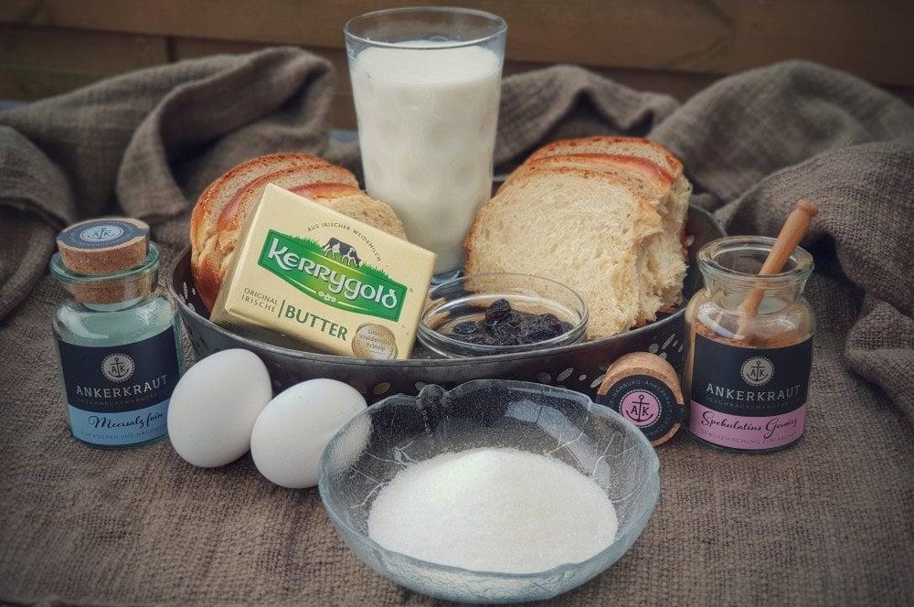 Zutaten Brotpudding  bread pudding-Bread Pudding Brotpudding 01-Bread Pudding – Brotpudding aus Brioche bread pudding-Bread Pudding Brotpudding 01-Bread Pudding – Brotpudding aus Brioche