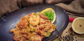 Kreolische Reispfanne