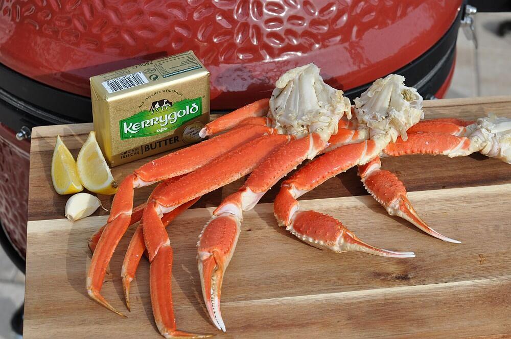 Zutaten Snow Crab Legs schneekrabbe-Schneekrabbe Snow Crab Legs 01-Schneekrabbe – Snow Crab Legs vom Grill