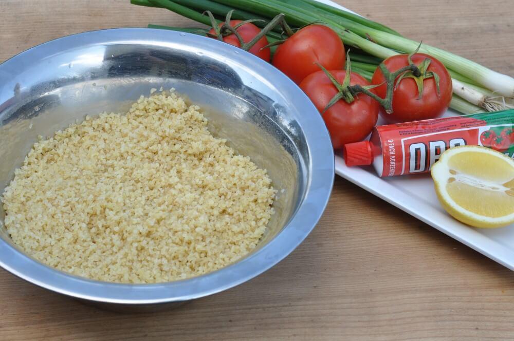 Zutaten Bulgur-Salat bulgursalat-Bulgursalat 01-Bulgursalat – Die orientalische Beilage