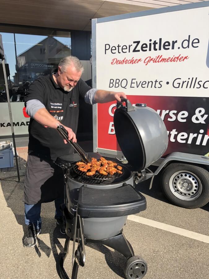 Showgrillen mit Peter Zeitler grillfürst bodensee-Grillfuerst Bodensee Singen XXL Grillshop 02-Grillfürst Bodensee in Singen (Hohentwiel)