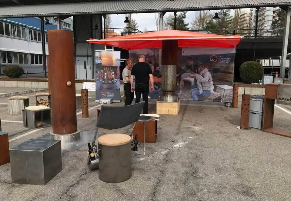 Das Feuerrohr aus der Schweiz grill & bbq messe-Grill BBQ Messe Sindelfingen 2019 25-Grill & BBQ Messe 2019 in Sindelfingen