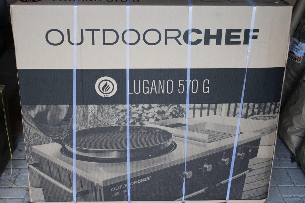 Karton vom Outdoorchef Lugano 570 G outdoorchef lugano-Outdoorchef Lugano 570G 01-Outdoorchef Lugano 570 G Gasgrill im Test