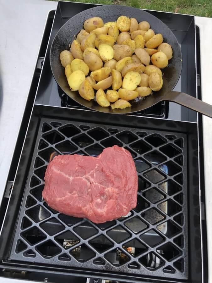 Steakhouse-Brenner und Seitenkocher outdoorchef lugano-Outdoorchef Lugano 570G 16-Outdoorchef Lugano 570 G Gasgrill im Test