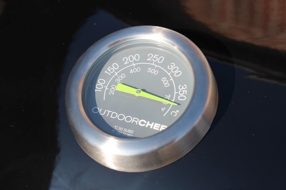 In 10 Minuten ist der Grill bis auf 360°C aufgeheizt  outdoorchef lugano-Outdoorchef Lugano 570G 18-Outdoorchef Lugano 570 G Gasgrill im Test