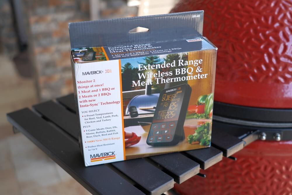 Maverick XR-40 Funkthermometer maverick xr-40-Maverick XR 40 Funkthermometer Test 01-Maverick XR-40 im Test – Funkthermometer mit 150 m Reichweite