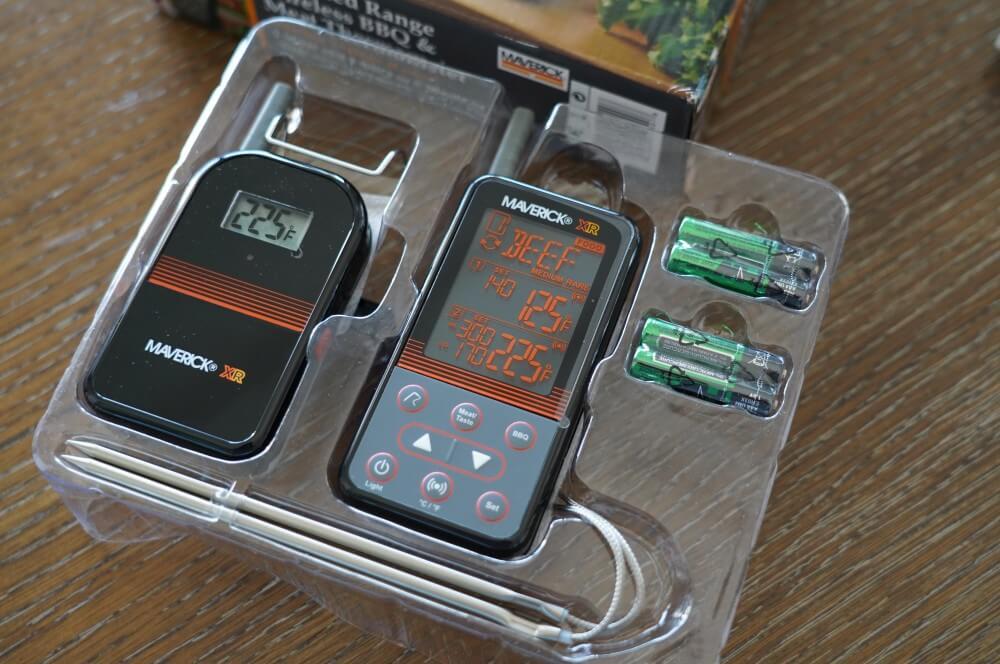 Das XR-40 in der Box maverick xr-40-Maverick XR 40 Funkthermometer Test 02-Maverick XR-40 im Test – Funkthermometer mit 150 m Reichweite