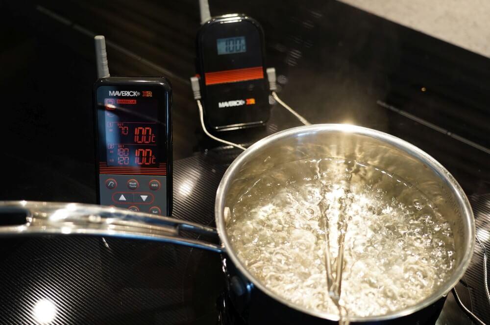 Maverick XR-40 im Genauigkeits-Test maverick xr-40-Maverick XR 40 Funkthermometer Test 04-Maverick XR-40 im Test – Funkthermometer mit 150 m Reichweite