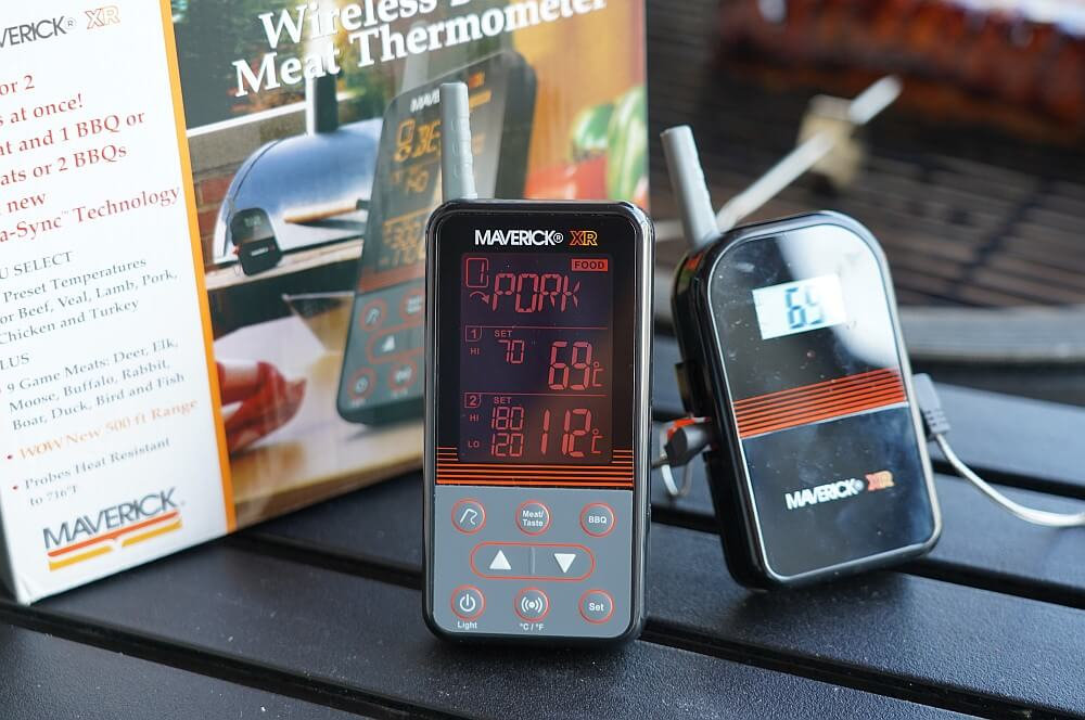 Das Maverick XR-40 überzeugt im Test maverick xr-40-Maverick XR 40 Funkthermometer Test 08-Maverick XR-40 im Test – Funkthermometer mit 150 m Reichweite