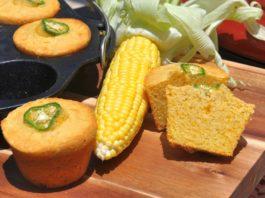 Maisbrot-Muffins [object object]-Cornbread Muffins Maisbrot Cheddar Jalapeno 265x198-BBQPit.de das Grill- und BBQ-Magazin – Grillblog & Grillrezepte –
