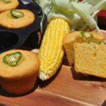 cornbread-muffins-Cornbread Muffins Maisbrot Cheddar Jalapeno 06 150x150-Cornbread-Muffins – Maisbrot-Muffins mit Cheddar und Jalapenos