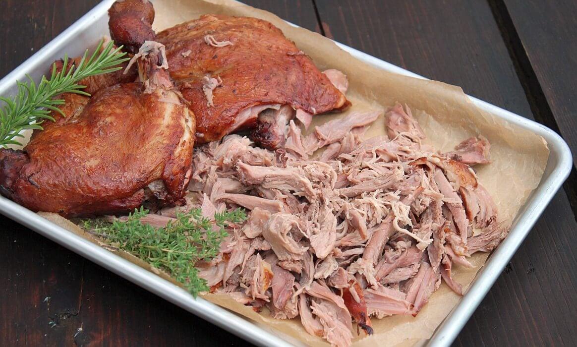 Gezupfte Ente pulled duck-Pulled Duck gezupfte Ente-Pulled Duck – Rezept für gezupfte Ente