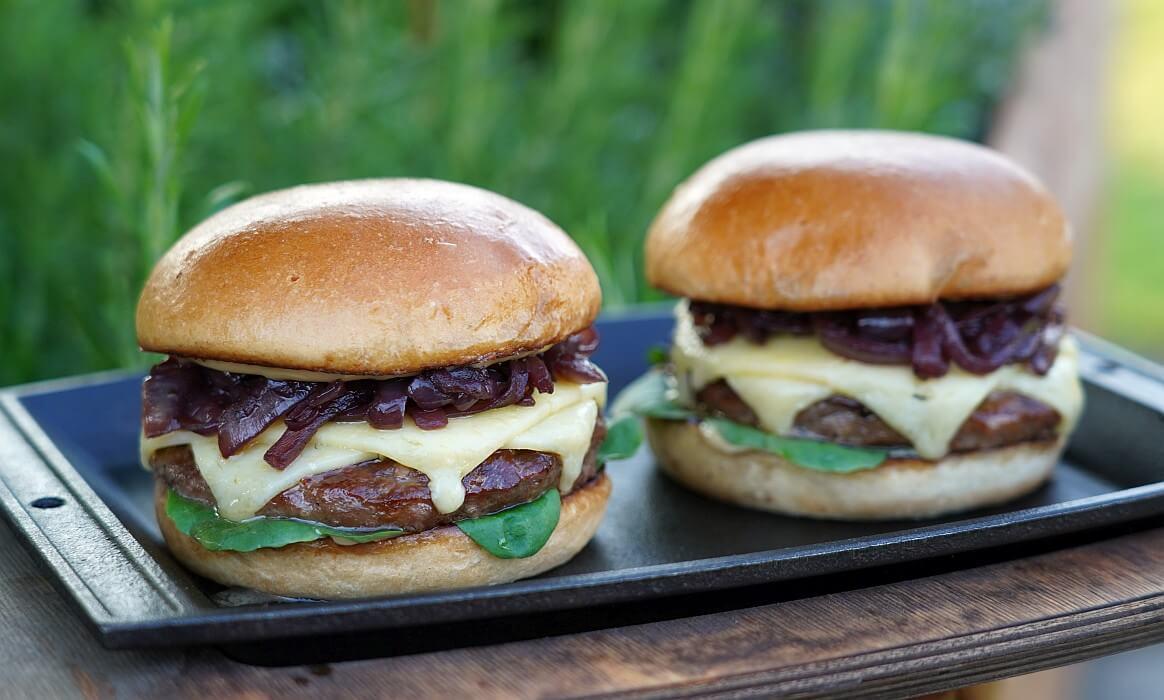 Vintage Cheddar Burger -Vintage Cheddar Burger-