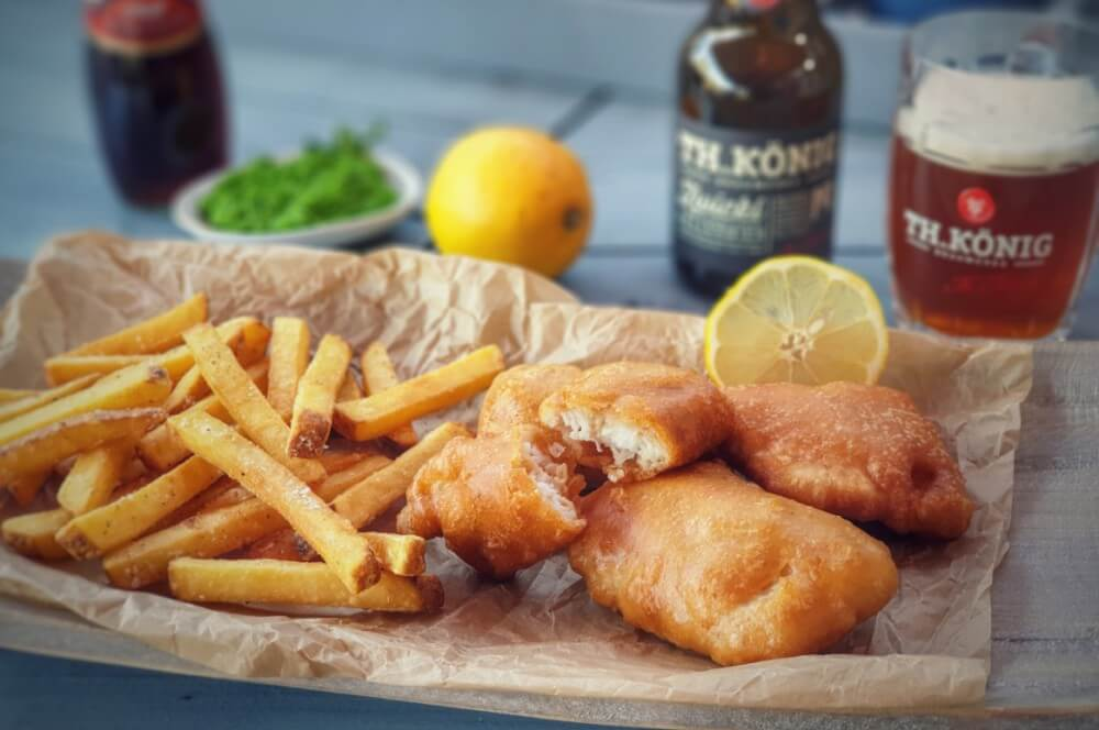 Fish and Chips im Bierteig fish and chips-Fish and Chips 04-Fish and Chips – Rezept für das inoffizielle englische Nationalgericht