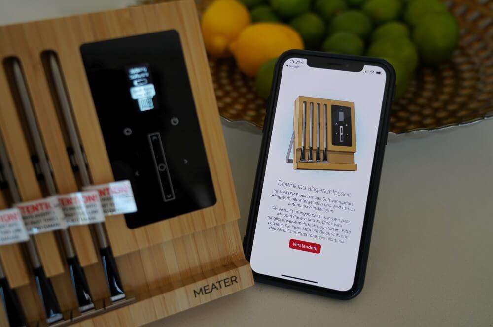 Die App wird eingerichtet meater block-MEATER Block Test Review 03-MEATER Block im Test – Kabelloses WLAN Grillthermometer mit 4 Fühlern