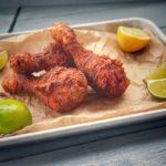 Frittierte Hähnchenschenkel kfc chicken-KFC Chicken frittierte Haehnchenschenkel 150x150-KFC Chicken – Rezept für frittiertes Hähnchen aus dem Wok